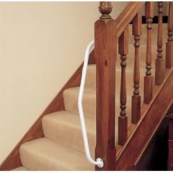 Barre d'appui pour poteau d'angle d'escalier-Droite