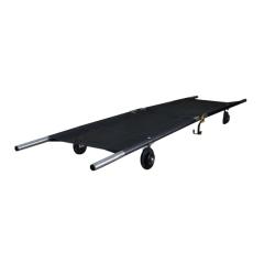 Brancard roulant pliable sens longueur
