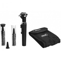 Otoscope hoto-light fibre optique noir
