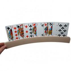 Support cartes de jeu en bois 35 cm