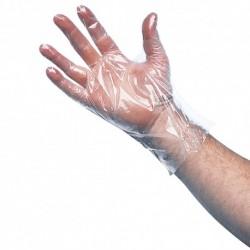 Gants en polyéthylène non stériles sachet de 100