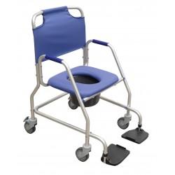 Chaise de douche roulettes garde-robe obana