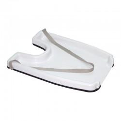 Plateau lave-tête pour fauteuil roulant à hauts rebords