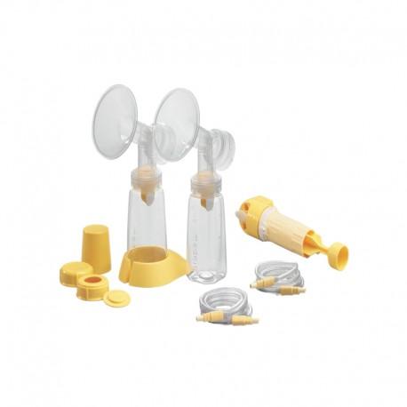 Lactina Set d'accessoires double pompage, démonté