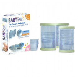 Capsules jetables mouche-bébé babydoo Visiomed