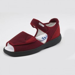 Chaussures New Fun bordeaux