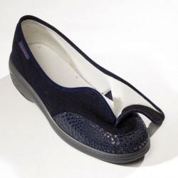 Chaussure Chut Heel marine ouverte