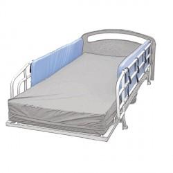 Paire de protections de barrière de lit