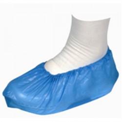Sur chaussures visiteurs en non tissé 35 g/m² - 36 x 15 cm - Bleu