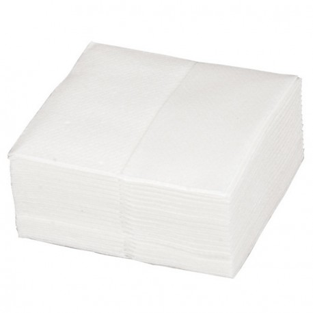 Carrés d'essuyage - Boîte de 200 - 18x20cm