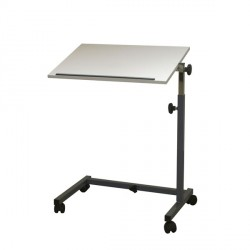 Table de lit AC 207, gris