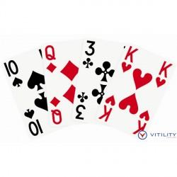 Jeu de cartes gros symboles