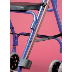 Support de canne pour fauteuil roulant