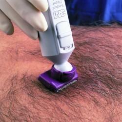 Tondeuse-chirurgicale-à-tête-pivotante
