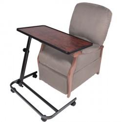 Table à manger spéciale fauteuil releveur