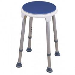 Tabouret rotatif blue seat