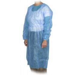 Blouse visiteur bleue non tissé - bte 10