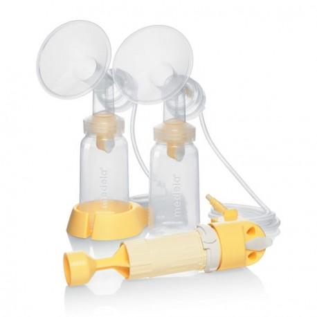 Lactina Set d'accessoires double pompage, monté